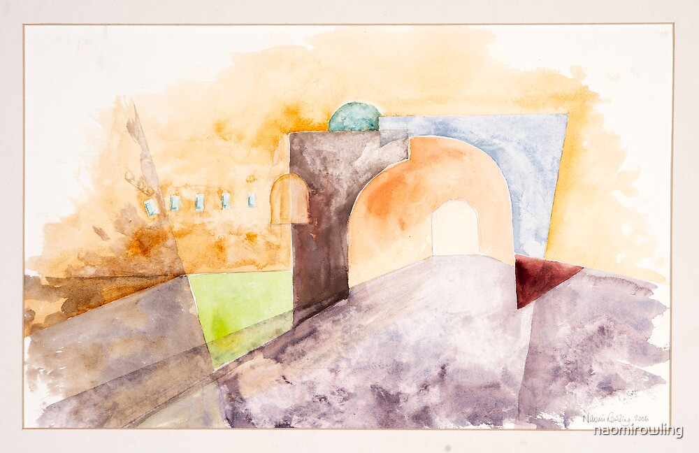 Oxford Arches Study by naomirowling