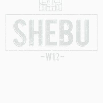 SHEBU Vintage White by SHEBUWALKIE