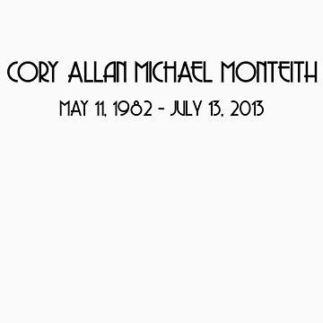 RIP Cory Monteith by corymonteeth