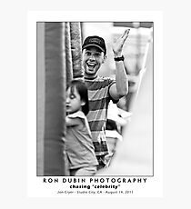 Jon Cryer - Smile and Wave Photographic Print