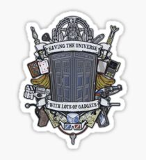 Time Lord Crest Sticker