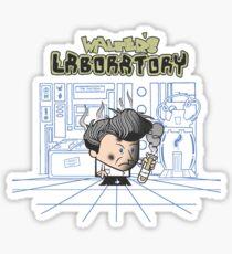 Walter's Laboratory Sticker