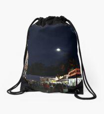 Carnival and Moon Drawstring Bag