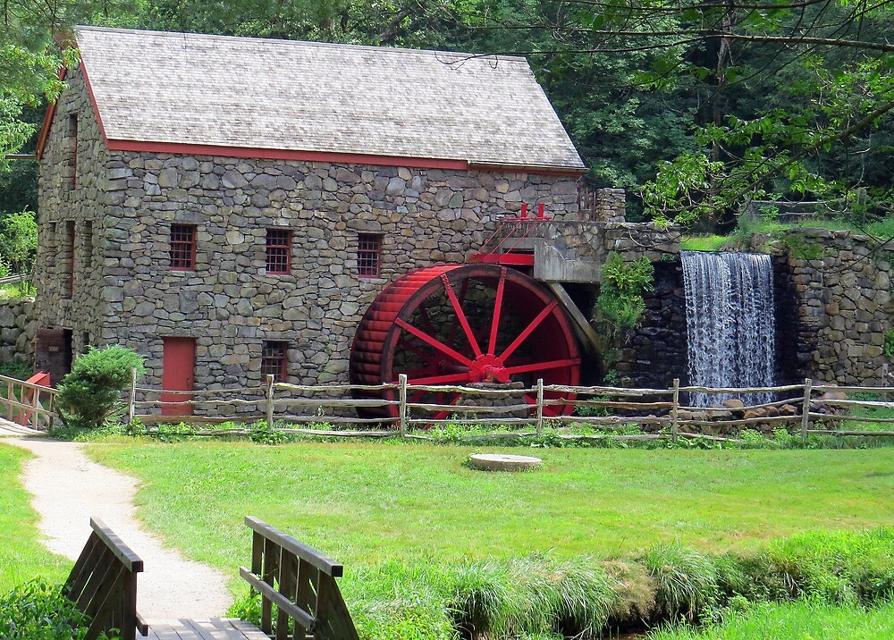 The Grist Mill by AJPhotographic