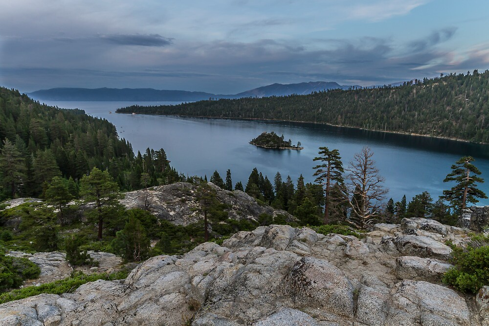 Dusk at Emerald Bay - Lake Tahoe by Richard Thelen