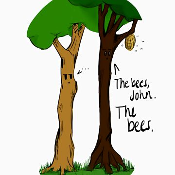The Bees by abhordelirium