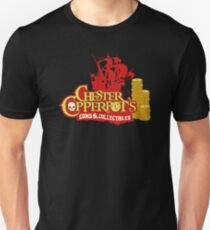 Chester Copperpot's Collectibles Unisex T-Shirt
