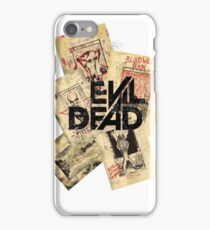 the evil dead ash vs the evil dead army of darkness  iPhone Case/Skin