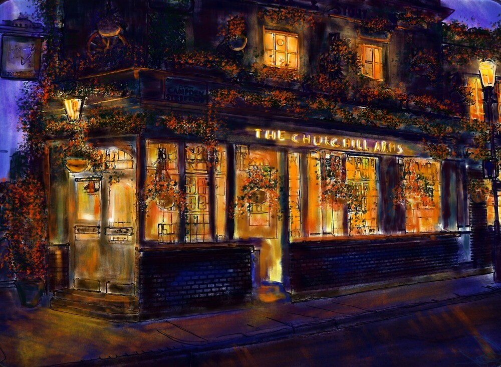 ThE ChURcHIlL ARmS, LOndOn   by Ingo  Ulrich
