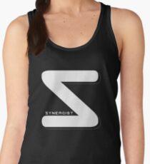 Synergist Logo Tee (white S) Women's Tank Top