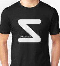 Synergist Logo Tee (white S) Unisex T-Shirt