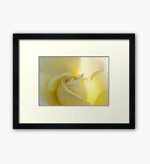 Sweet and hopeful Framed Print