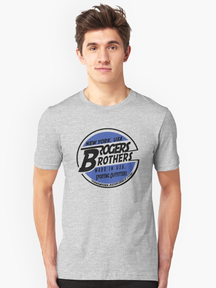 usa new york by rogers brothers Unisex T-Shirt Front