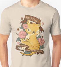 Be Kind Thylacine Unisex T-Shirt