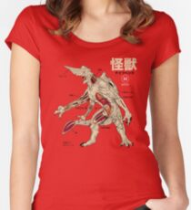 Kaiju Anatomy Women's Fitted Scoop T-Shirt