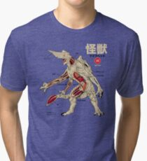 Kaiju Anatomy Tri-blend T-Shirt
