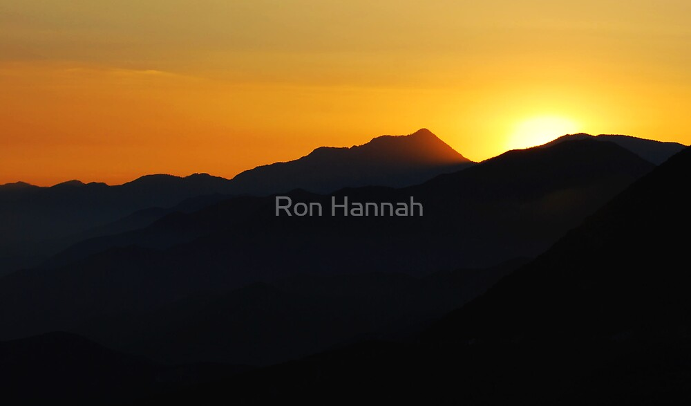 Sunset In A Dream by Ronald Hannah