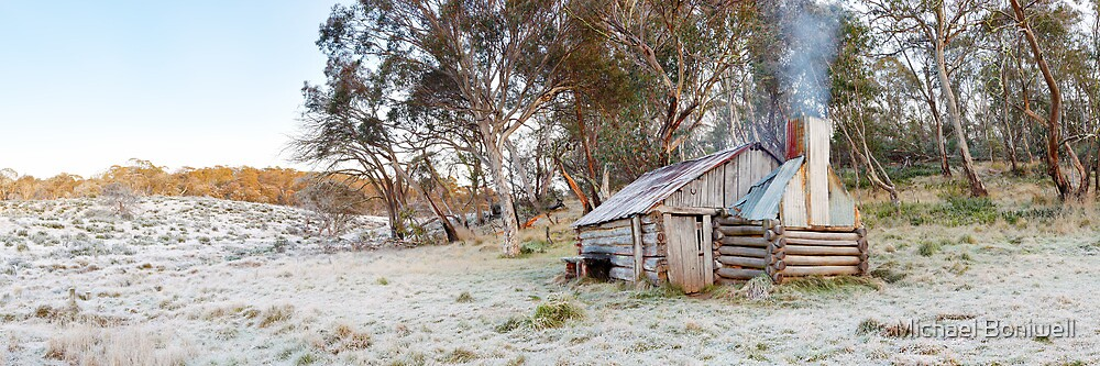 Frosty Guys Hut, Alpine National Park, Victoria, Australia by Michael Boniwell