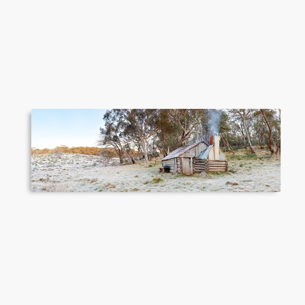 Frosty Guys Hut, Alpine National Park, Victoria, Australia Canvas Print