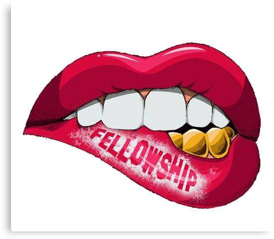 Fellowship Lips  by Nick Innella