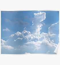 Summer Clouds Poster