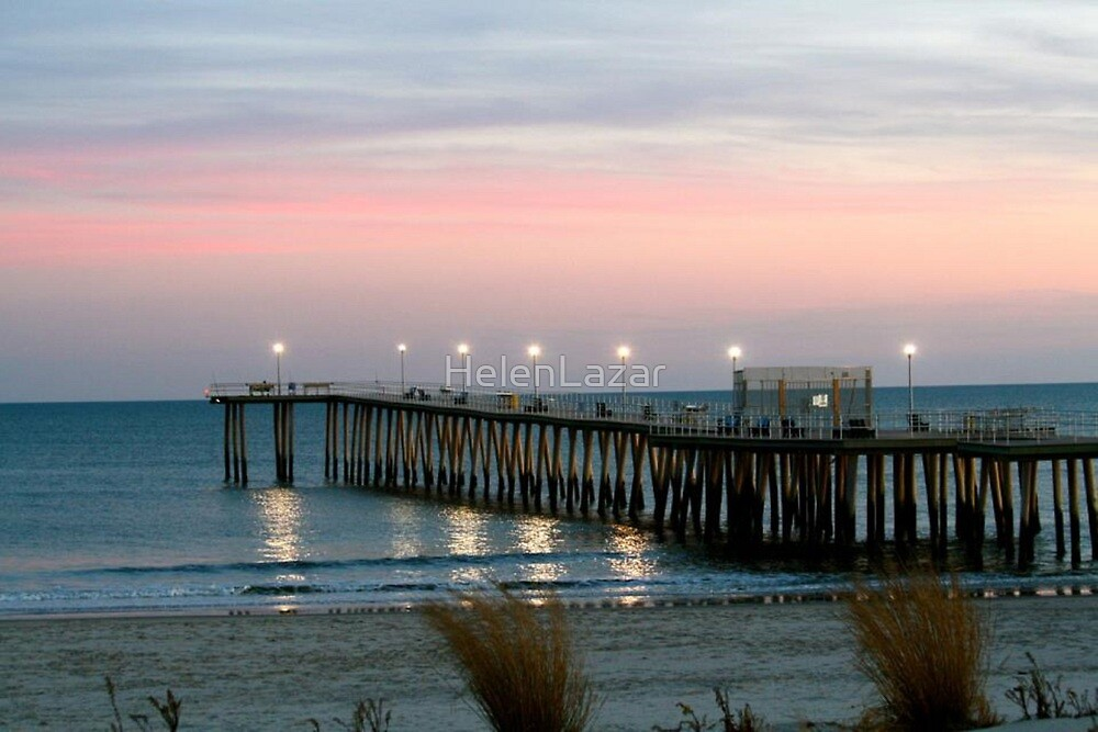 Sunrise at the Pier by HelenLazar