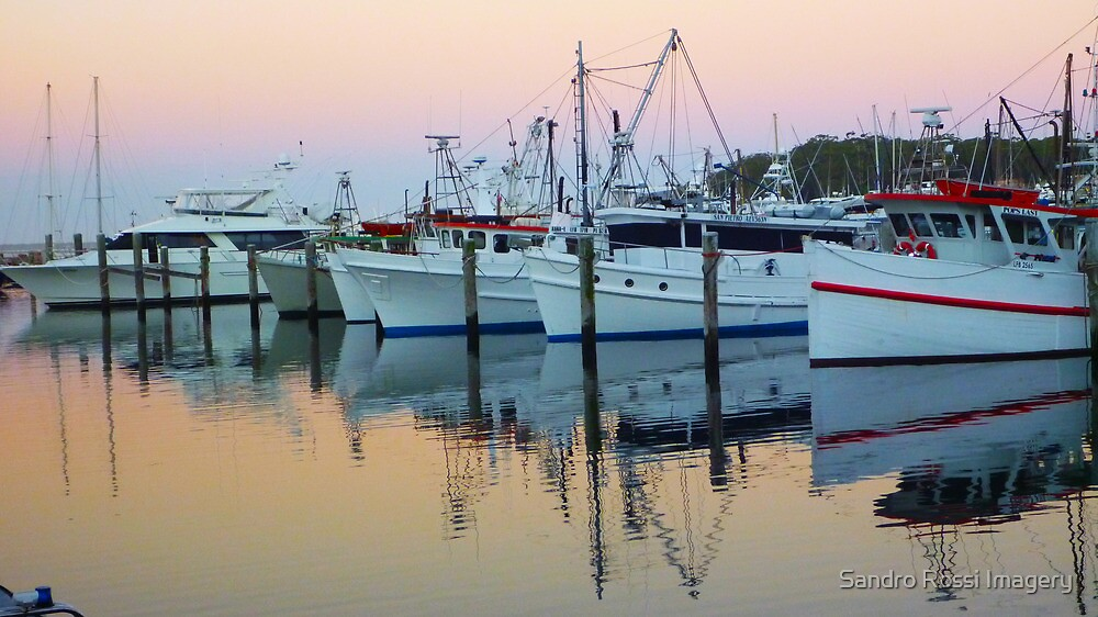 Mooring sunset by Sandro Rossi Imagery