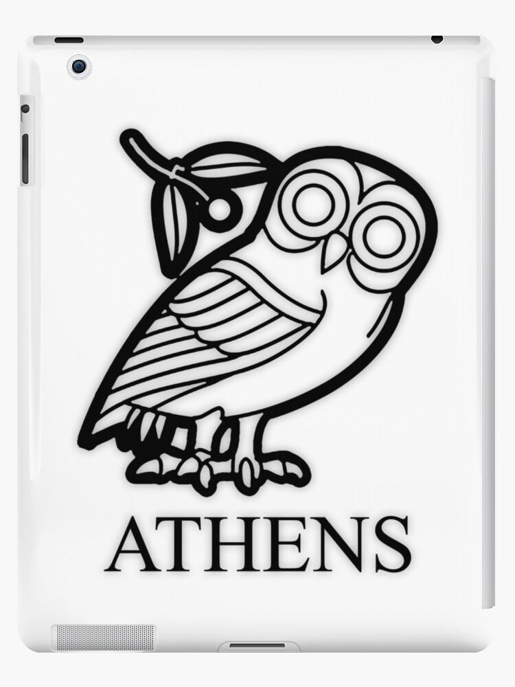 Athens Owl Of Athena Ipad Case Skin By Jamesnicholls