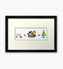 Merry Christmas Charlie Brown! Framed Print