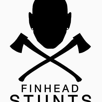 FinheadStuntsLogoBlack by nellie