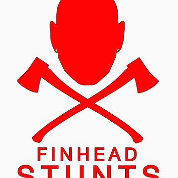FinheadStuntsLogoRed by nellie