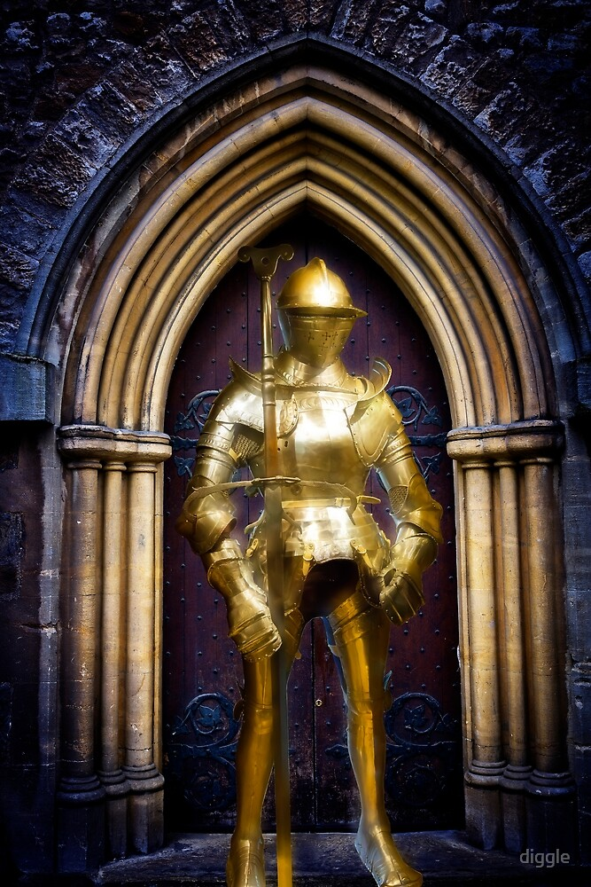 Golden Knight by diggle