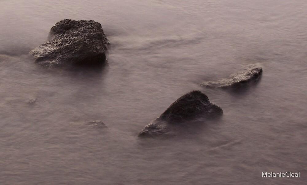 Water over Rocks - Sandgate by MelanieCleal