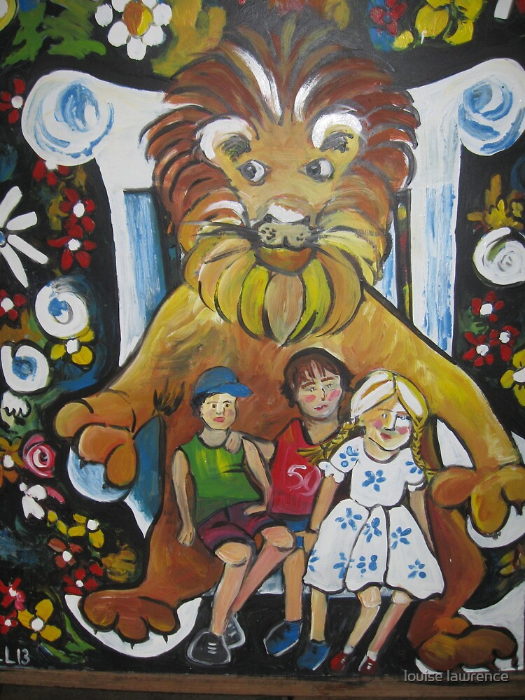 Lucy and the Lion by louise lawrence