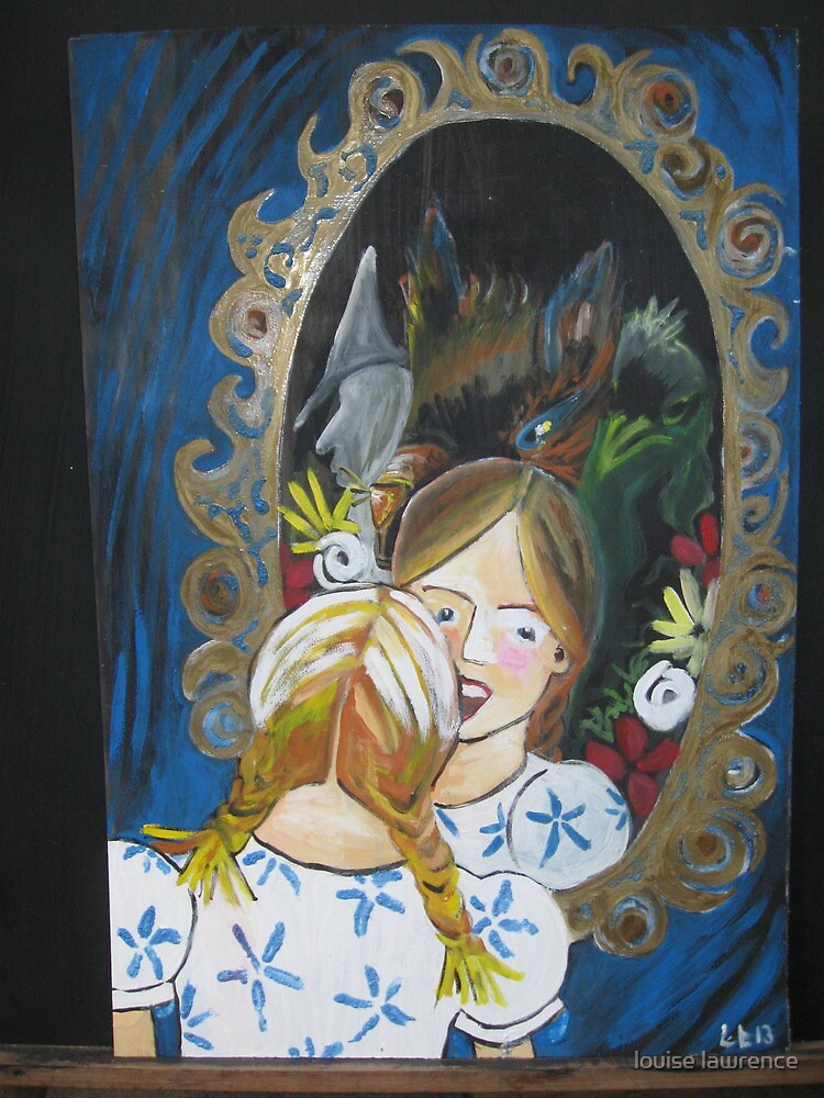 Lucy in the Mirror by louise lawrence