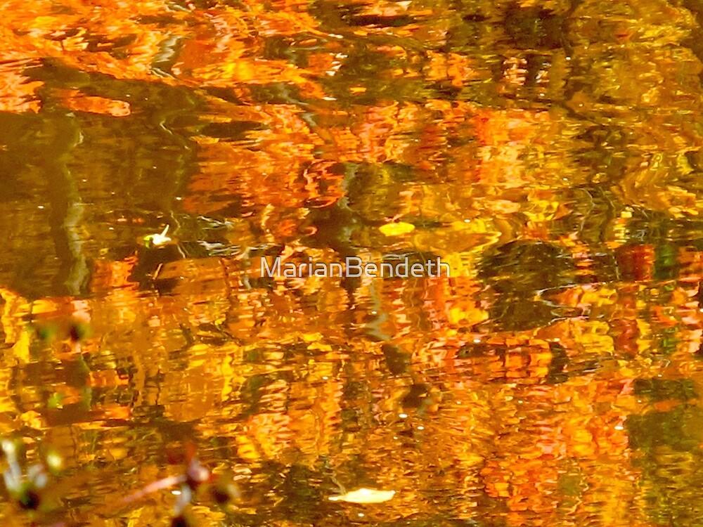 Orange staccato by MarianBendeth