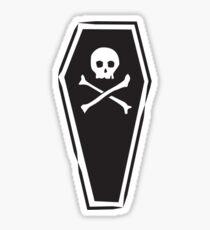 Dead Bed - Night Sticker