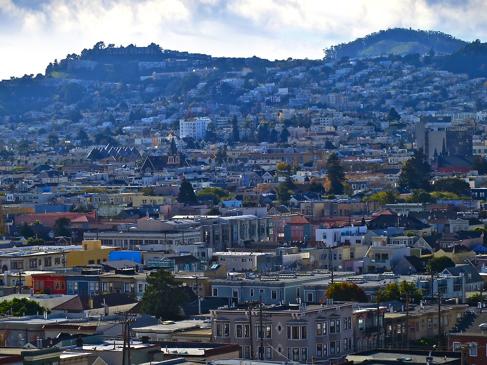 The Mission, The Castro and Diamond Heights by David Denny