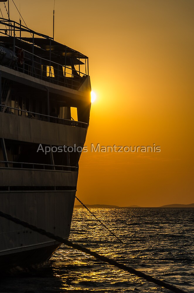 Departure by Apostolos Mantzouranis