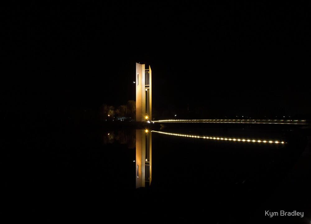 Light in the Darkness Aspen Island Canberra Australia  by Kym Bradley