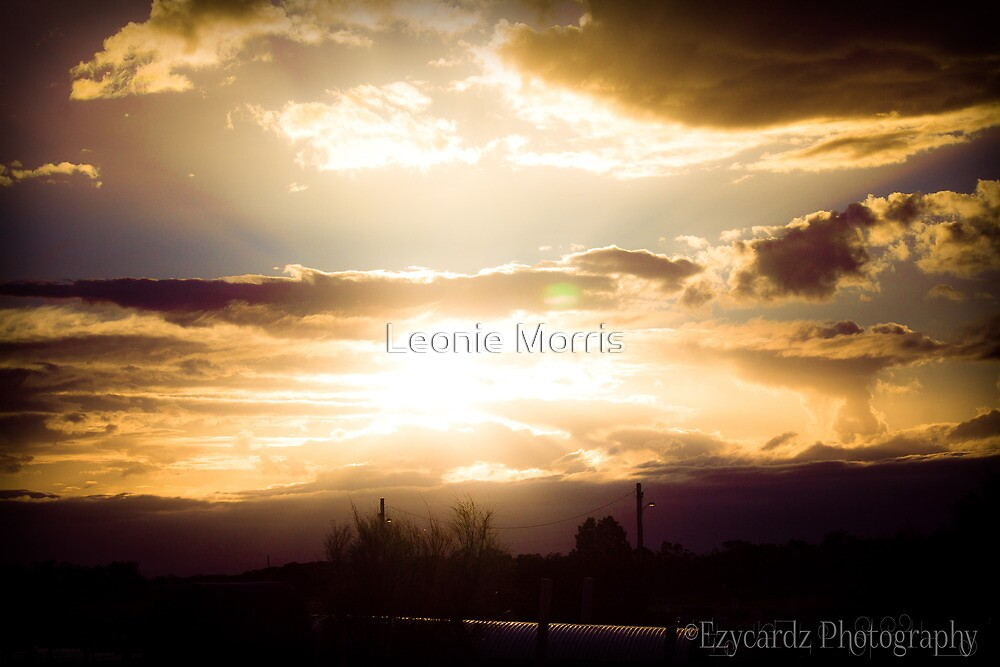 Sunset 3 by Leonie Morris