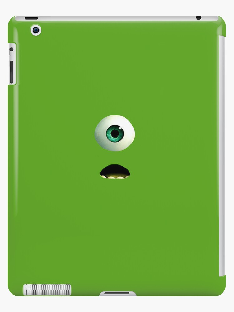 Monsters Inc & University Mike's iPad Case by TheTubbyLife