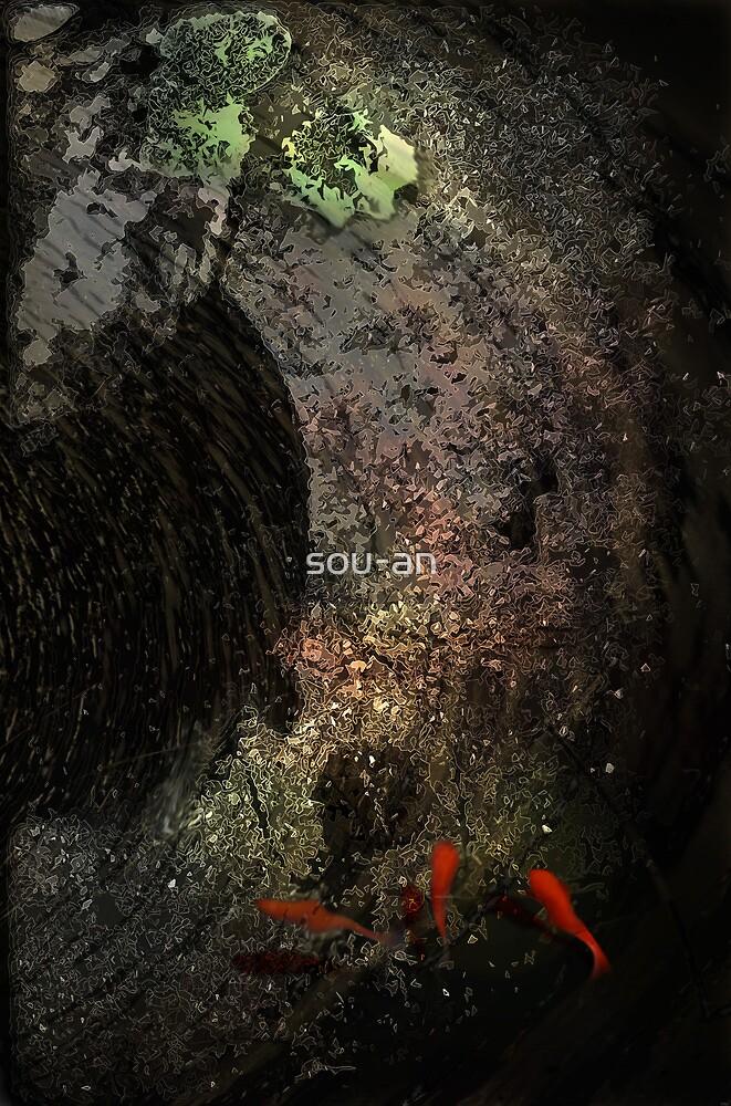gold fish by sou-an
