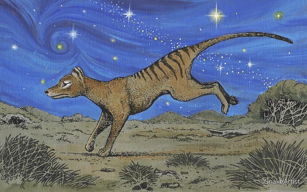 Running Under the Stars by SnakeArtist