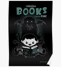 Forbidden Books can be Fun Poster