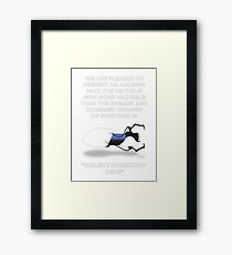 Portal Aperture Science Handheld Portal Device Framed Print