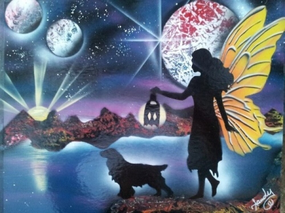 Midnight Stroll by Sandy Williamson