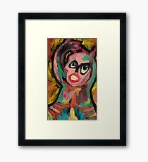 Vanity and Pretense Framed Print