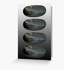 The rings of the Lord Greeting Card