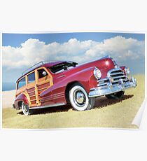 Red Woody Poster